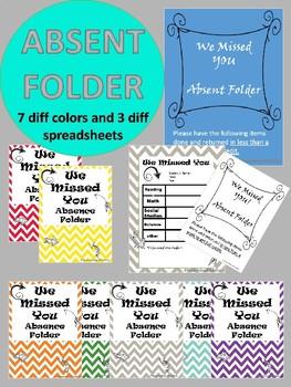 #betterthanchocolate Absent Folder