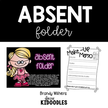 Black & Neon Absent Folders