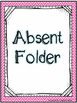 Absent Folder Covers - Chevron