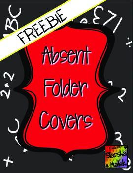 Absent Folder Covers (S.Malek Freebie)