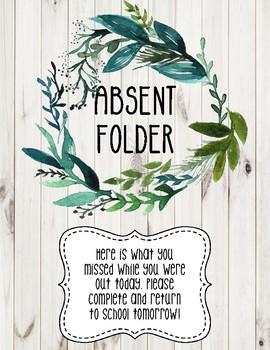 Absent Folder-Farmhouse