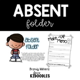 White Absent Folders