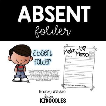 White Absent Folders