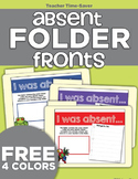 Absent Folders Fronts