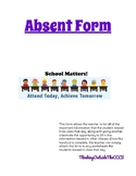 Absent Form
