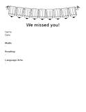 Absent Form (Make Up Work List)