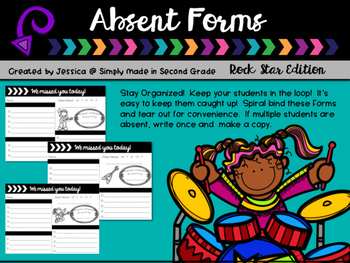 Absent Forms Rock Star Edition
