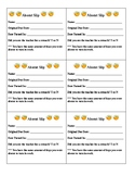 Absent, Late, and Redo Slips for Optimal Organization