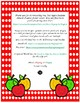 Absent Student Folder Cover~ Red Polka Dot Apple Buddies