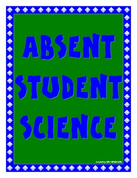 Absent Student Science