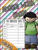 Absent Work Form for Students