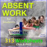 Absent Work Packet