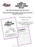 Absent Work Binder