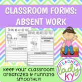 Absent Work Forms
