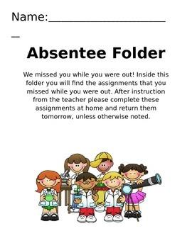 Absentee Folder