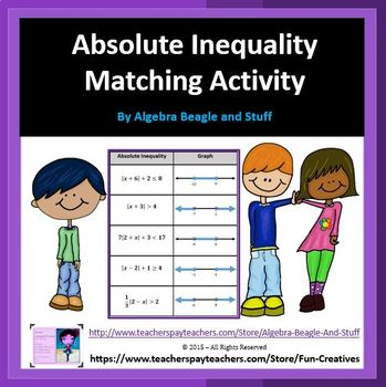 Absolute Inequality Matching Activity