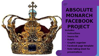 Absolute Monarch Facebook Project