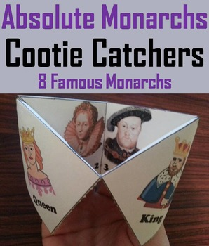 Absolute Monarchs Activity (Scoot Unit Review Game)