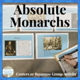 Absolute Monarchs Age of Absolutism Centers & Response Act