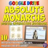 Absolute Monarchs Google Drive Interactive Notebook