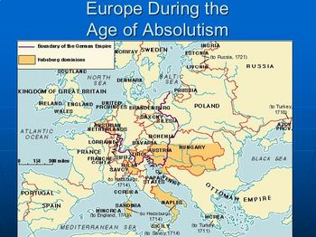 Absolute Monarchs and Age of Absolutism Package