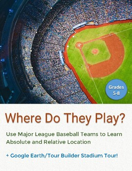 MLB Baseball Teams Absolute Location Assignment with a Google Earth Tour