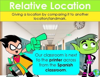 Absolute & Relative Location PPT