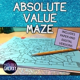 Absolute Value Activity (Distance Learning)