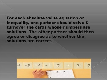 Absolute Value Activity