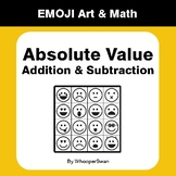 Absolute Value - Addition & Subtraction - Emoji Art & Math