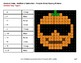 Absolute Value: Addition & Subtraction -  PUMPKIN EMOJI Mystery Pictures