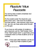 Absolute Value Associate