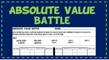 Absolute Value Battle
