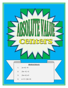 Absolute Value Centers