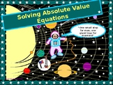 Algebra Power-Point: Solving Absolute Value Equations