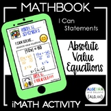 Absolute Value Equations Activity - Mathbook