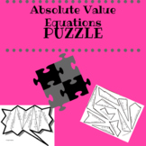 Absolute Value Equations Puzzle