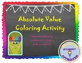Absolute Value Equations; Solving Equations Activity (fun & engaging)
