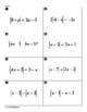 Absolute Value Equations Sum Em Activity