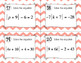 Absolute Value Equations Task Cards