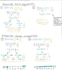 Absolute Value Equations and Inequalities Cheat Sheet
