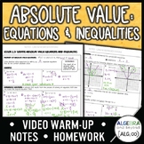 Absolute Value Equations and Inequalities Lesson