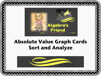 Absolute Value Function Card Sort
