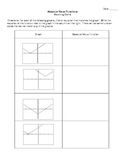 Absolute Value Functions - Matching Game