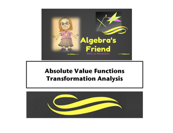 Absolute Value Functions Transformation Analysis