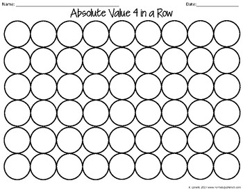 Absolute Value Game