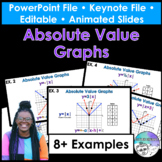 Absolute Value Graphs PowerPoint/Keynote Presentations