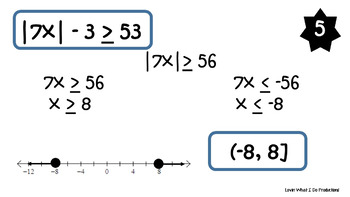 Absolute Value Inequalities Fix It or Forget It!