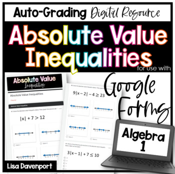 Absolute Value Inequalities (Google Forms/ Quizzes)