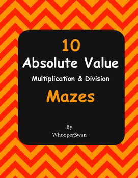 Absolute Value Maze